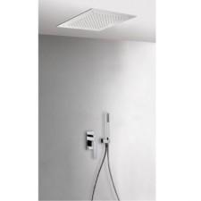 Tres Slim Exclusive kompletny zestaw prysznicowy podtynkowy deszczownica 380x380mm chrom - 525470_O1