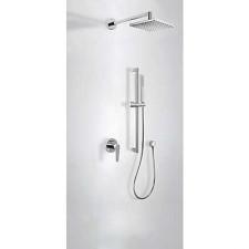 Tres Class kompletny zestaw prysznicowy podtynkowy deszczownica 160x550mm chrom - 507176_O1