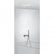 Tres 3V kompletny zestaw wannowo-prysznicowy podtynkowy 3-drożny deszczownica średnica380mm z wylewką do wanny kaskada chrom - 720645_O1