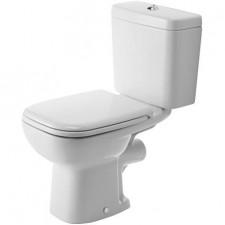 Duravit D-Code Miska lejowa toaletowa stojąca biała - 391149_O1