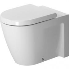 Duravit Starck 2 Miska lejowa WC stojący biała - 450211_O1