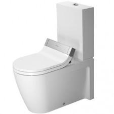 Duravit Strack 2 Miska lejowa WC stojący biała WonderGliss - 450214_O1