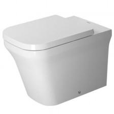 Duravit P3 Comforts Miska WC Rimless bez rantu spłukującego, wersja przyścienna, 38x60, HygieneGlaze, biała - 570402_O1