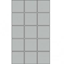 Villeroy & Boch Pro Architectura płytka podstawowa 10x10 cm gres matowy jasny szary - 171125_O1