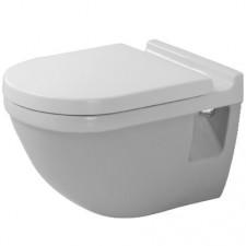 Duravit Starck 3 Miska lejowa WC wisząca 36x54 biała - 153981_O1