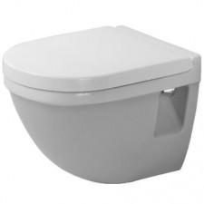Duravit Starck 3 Miska lejowa WC wisząca 36x48,5 Compact biała - 157437_O1