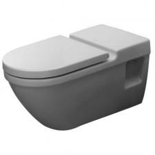 Duravit Starck 3 Miska WC wisząca Vital 36x70 biała dla niepełnosprawnych WonderGliss - 153994_O1