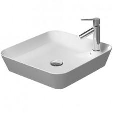Duravit Cape Cod umywalka nablatowa bez przelewu 46x46 biała - 550978_O1