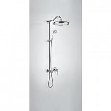 Tres Mono-Clasic kompletny zestaw prysznicowy podtynkowy deszczownica średnica310mm chrom - 749746_O1