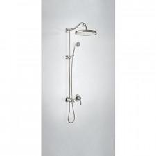 Tres Mono-Clasic kompletny zestaw prysznicowy podtynkowy deszczownica średnica310mm stalowy - 757252_O1