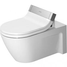 Duravit Strack 2 Miska lejowa WC wisząca biała WonderGliss - 450271_O1