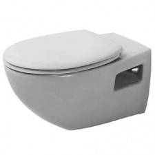 Duravit Duraplus Miska WC wisząca Colomba biała WonderGliss - 154100_O1
