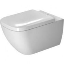 Duravit Happy D.2 Miska WC wisząca bezrantowa Rimless 36,5x62 biała WonderGliss - 468364_O1