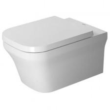 Duravit P3 Comforts Miska WC wisząca Duravit Rimless bez rantu spłukującego, lejowa, 38x57, HygieneGlaze, biała - 570400_O1