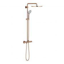 Grohe Euphoria system 310 Zestaw prysznicowy termostatyczny deszczownica 310mm miedź - 749414_O1