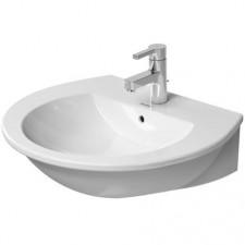Duravit Darling New Umywalka wisząca biała 60x52 WonderGliss - 450290_O1