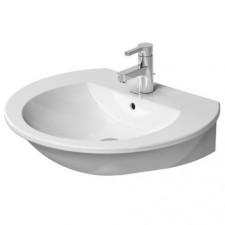 Duravit Darling New Umywalka wisząca biała 65x54 WonderGliss - 450294_O1