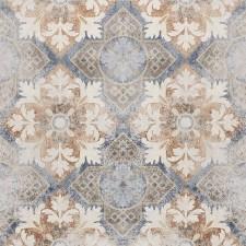 Villeroy & Boch Warehouse płytka dekor 60x60 cm gres szkliwiony rektyf. matowy biały multikolor - 689208_O1