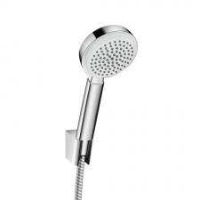 Hansgrohe Crometta 100 Zestaw prysznicowy 1jet Porter Set 1.25m biały/chrom - 518068_O1