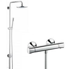 Hansgrohe Crometta 85 Zestaw prysznicowy z termostatem Vario Combi 0,65m - 508333_O1