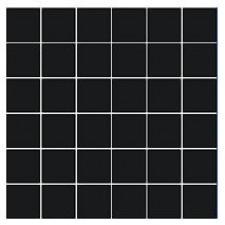 Villeroy & Boch Pro Architectura płytka podstawowa 5x5 cm gres matowy czarny - 171253_O1
