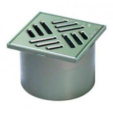 Kessel System 100 Nasadka z ABS z kratką szczelinową ze stali nierdzewnej 10cm - 389658_O1