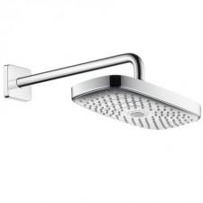 Hansgrohe Raindance Select E deszczownica 300 2S z ramieniem prysznicowym 390 mm DN15 biały/chrom - 458687_O1