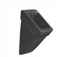 Duravit Vero Pisuar odsłonięty czarny WonderGliss - 450326_O1