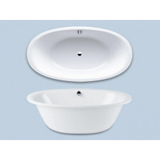 Kaldewei Ellipso Duo Oval wanna 190x100x45 obudowa, pow.uszlch. - 460508_O1