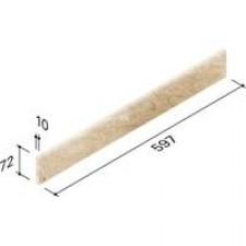 Villeroy & Boch Tribute cokół 7,5x60 cm gres rektyf. polerowany beż - 518592_O1