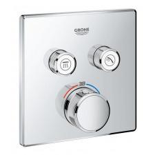 Grohe Grohtherm SmartControl Bateria prysznicowa podtynkowa termostatyczna 2-drożna do SmartBox Chrom - 740334_O1