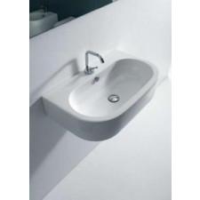 Kerasan Flo umywalka wisząca 60x42 biała - 473173_O1