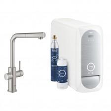 Grohe Blue Home bateria kuchenna zlewowa z filtrem i gazowaniem wody W/W - 781211_O1
