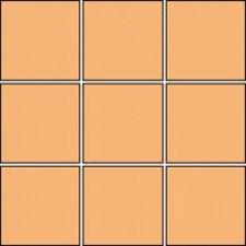 Villeroy & Boch Pro Architectura płytka podstawowa 10x10 cm terakota matowy jasny amber - 170745_O1