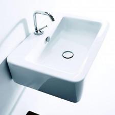 Kerasan Ego umywalka wisząca 50x40 biała - 464133_O1