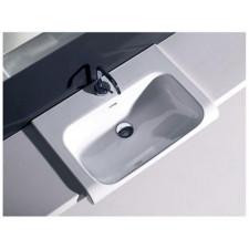 Kerasan Inka umywalka półblatowa 60x40 biała - 464102_A2