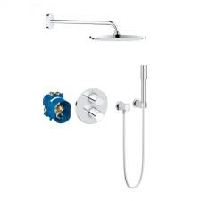 Grohe Grohtherm 3000 Cosmopolitan zestaw prysznicowy podtynkowy termostatyczny z deszczownicą Rainshower Cosmopolitan 310 chrom - 687095_O1