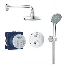 Grohe Grohtherm zestaw podtynkowy prysznicowy termostat chrom - 779341_O1