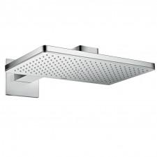 Axor ShowerSolution deszczownica prysznicowa 460 / 300 1jet z ramieniem prysznicowym i rozetami Square - 724780_O1
