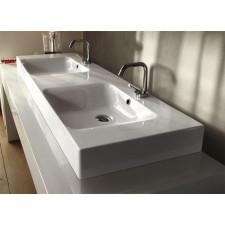 Kerasan Cento umywalka wisząca 140x45cm biała - 473087_A1