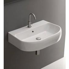 Kerasan K9 umywalka wisząca, stojąca z 1otw. 60x47 biała - 519836_A1