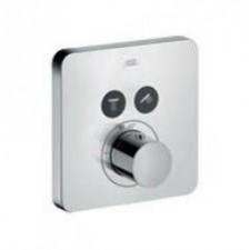 Hansgrohe Bateria termostatyczna ShowerSelect do 2 odbiorników, montaż podtynkowy, element zewnętrznyO1