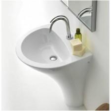 Kerasan Aquatech umywalka stojąca 60x51 cm biała - 473088_A1