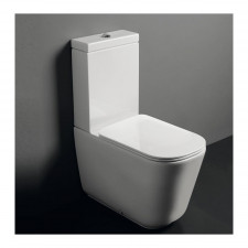 Kerasan Tribeca zbiornik do kompaktu biały - 765816_O1
