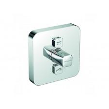 Kludi Push podtynkowa bateria natryskowa (kwadrat),2 źródła wody - 682397_O1