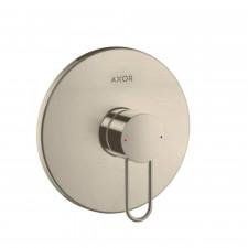 Axor Uno Jednouchwytowa bateria prysznicowa, montaż podtynkowy, element zewnętrzny, uchwyt Loop, nikiel - 763711_O1