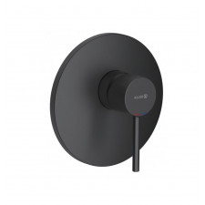 Kludi Bozz Bateria prysznicowa podtynkowa El. zewnętrzny Czarny mat - 820471_O1