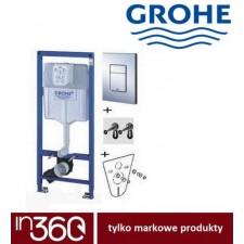 Grohe Rapid SL Stelaż podtynkowy do WC wiszącego z przyciskiem + wsporniki Zestaw 4 w 1 - 433505_O1