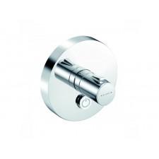 Kludi Push podtynkowa bateria natryskowa (koło), przycisk 1 źródło wody, z termosttem - 682394_O1