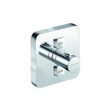 Kludi Push podtynkowa bateria natryskowa z termostatem, soft edge - 557256_O1